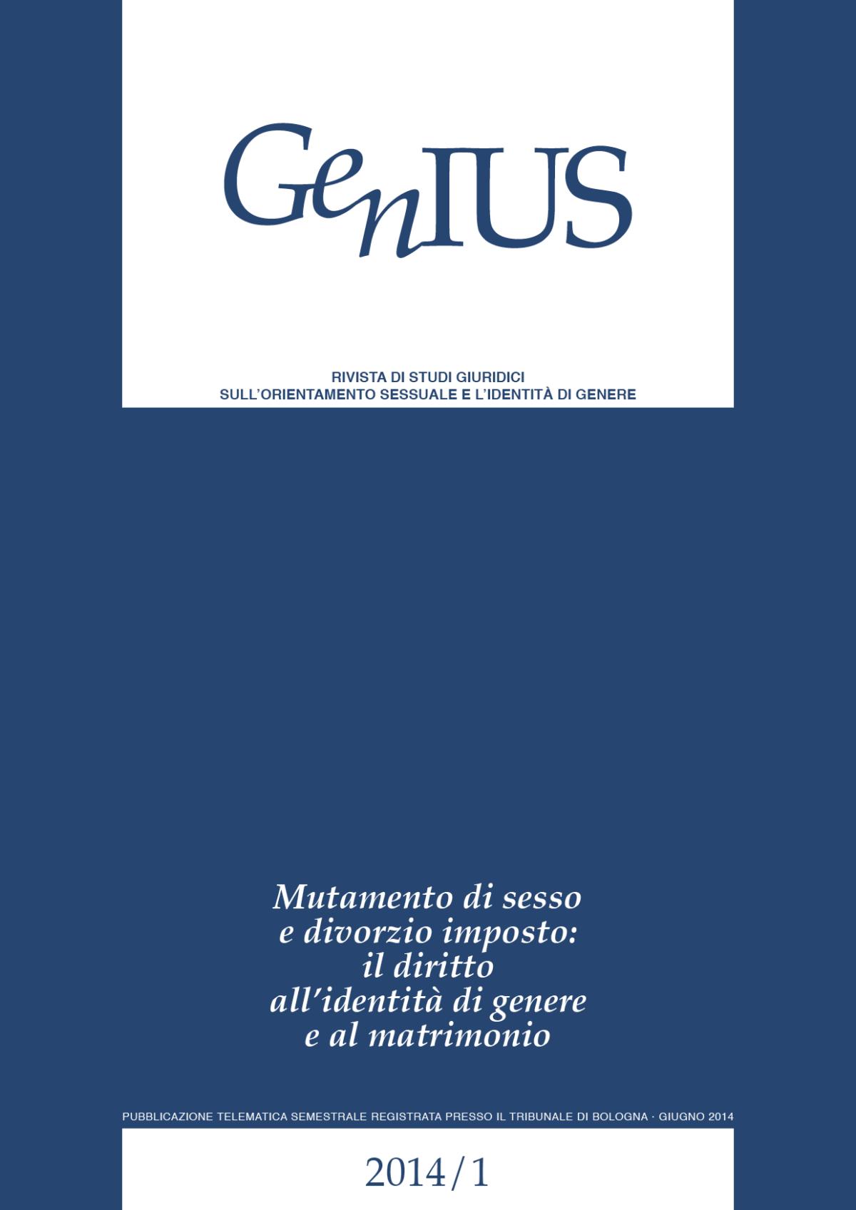 GenIUS 2014-1